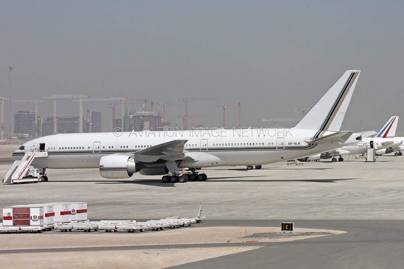 A6-ALN | Boeing 777-2AN/ER | Abu Dhabi Presidential Flight