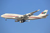 A6-MMM   Boeing 747-422   Dubai Air Wing Royal Flight