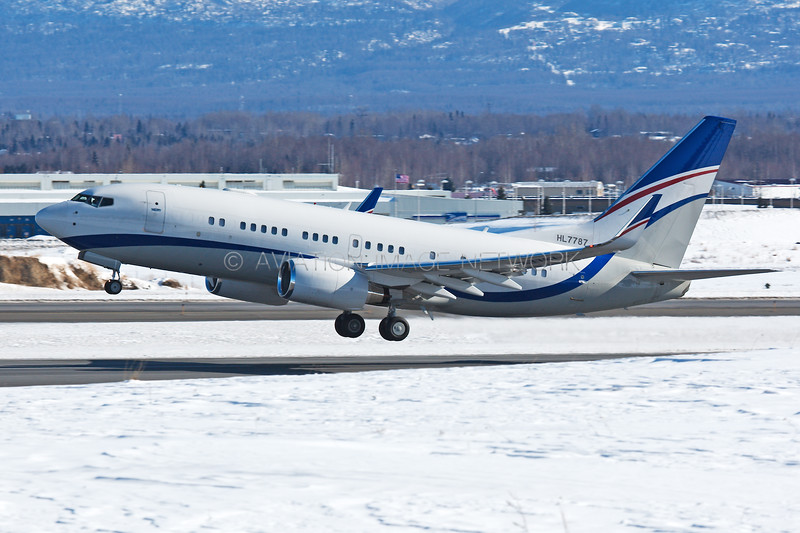 HL7787 | Boeing 737-75G BBJ | Hyundai