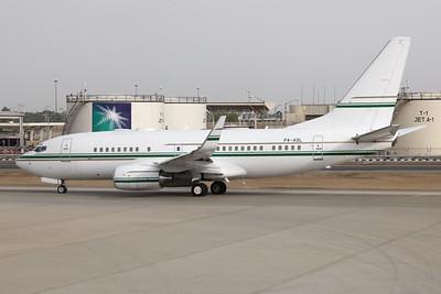 P4-ASL | Boeing 737-7BH BBJ | Arabasco