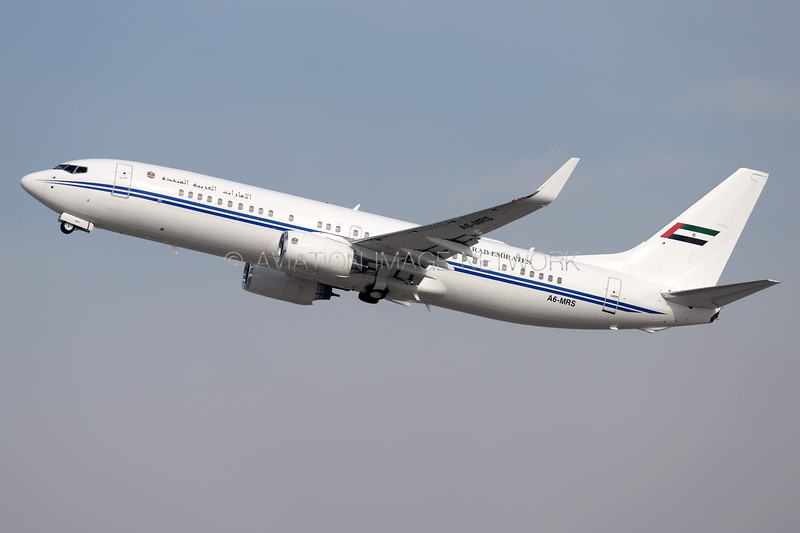 A6-MRS | Boeing 737-8E0 BBJ | Dubai Air Wing Royal Flight