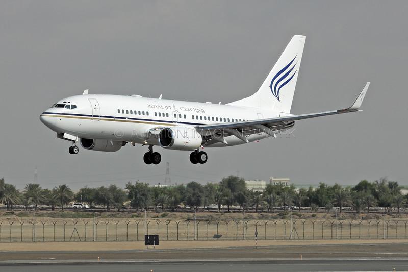 A6-RJX   Boeing 737-7AK BBJ   Royal Jet
