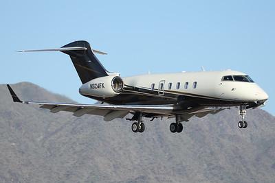N524FX | Bombardier Challenger 300 | Flexjet