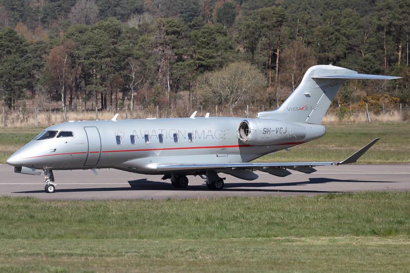 9H-VCJ   Bombardier Challenger 350   VistaJet