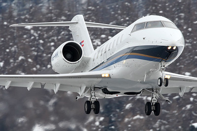 OE-INK | Bombardier Challenger 605 | Transair Austria