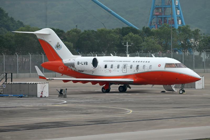 B-LVB | Bombardier Challenger 605 | Hong Kong Government Flying Service