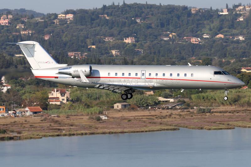9H-ILA | Bombardier Challenger 850 | Vistajet