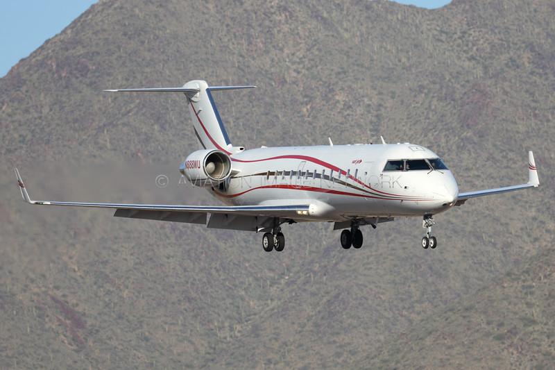 N888WU | Bombardier Challenger 850 | 888WU LLC