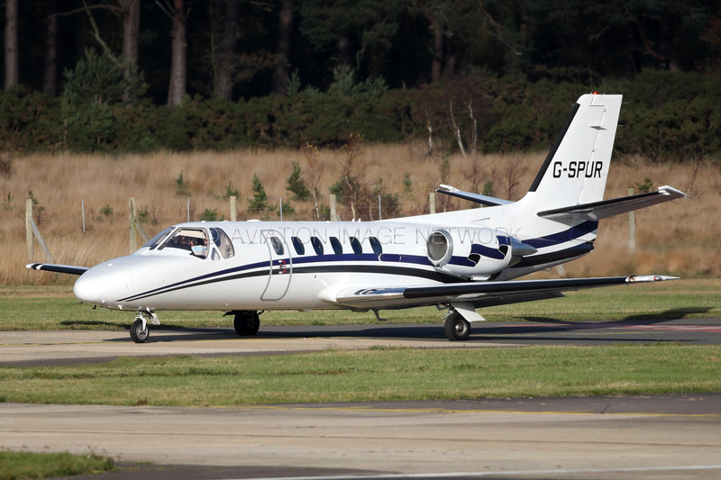 G-SPUR | Cessna 550 Citation II | London Executive Aviation