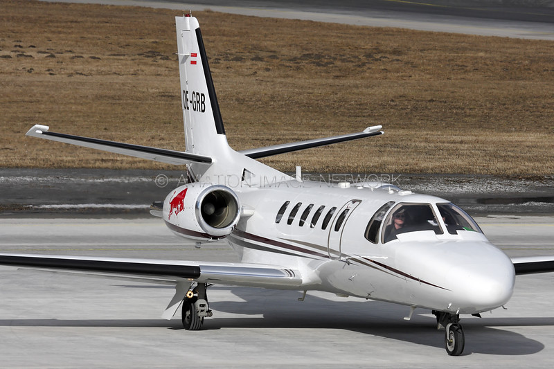 OE-GRB | Cessna 550B Citation Bravo | Red Bull