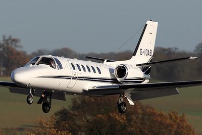G-IDAB | Cessna 550B Citation Bravo |