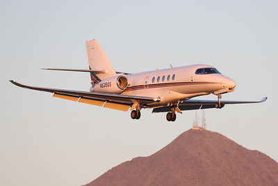 N535QS   Cessna 680A Citation Latitude   NetJets