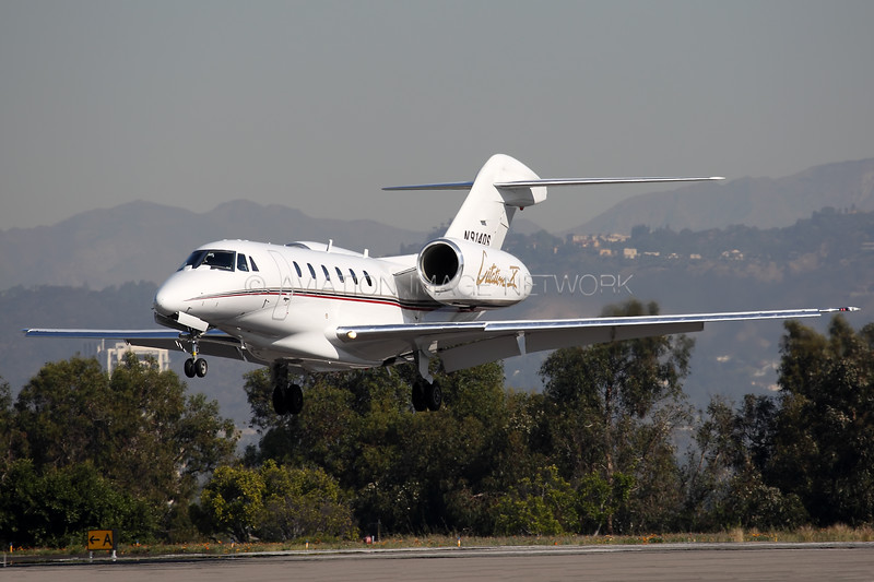 N914QS | Cessna 750 Citation X | NetJets