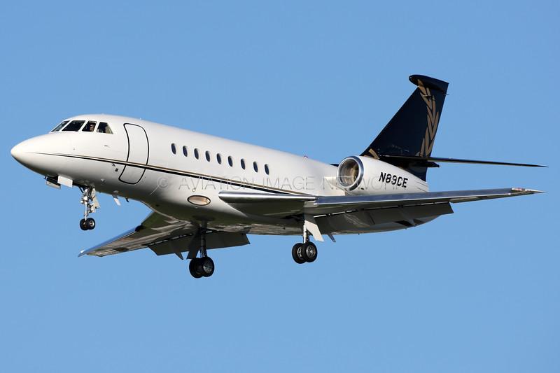 N89CE | Dassault Falcon 2000EX |