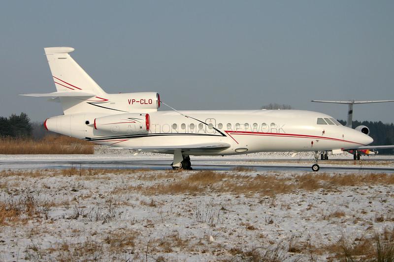 VP-CLO   Dassault Falcon 900EX   Lukoil-Avia