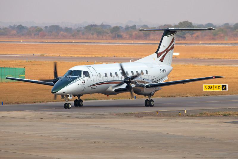 9J-RYL   Embraer EMB-120ER Brasilia   Royal Air Charters Zambia