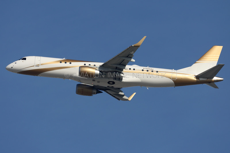 N785MM | Embraer Lineage 1000 | MGM Mirage