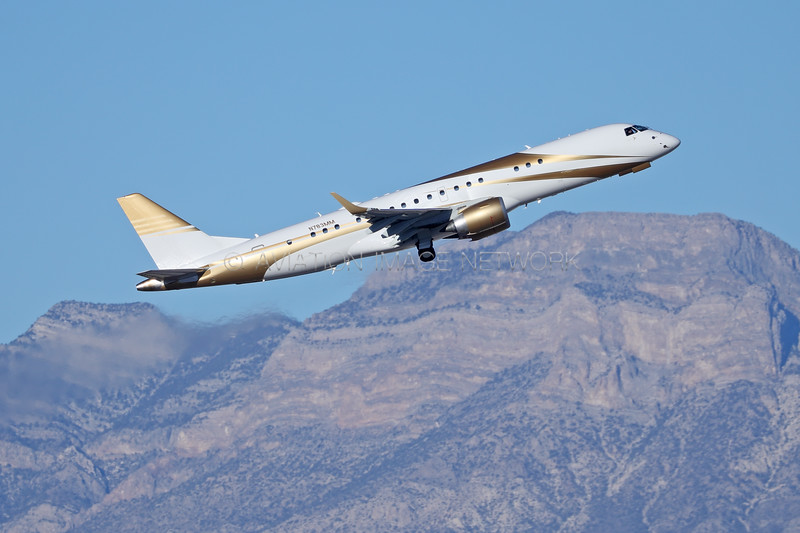 N783MM | Embraer Lineage 1000 | MGM Mirage