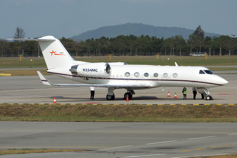 N334MC | Gulfstream IV | MCI Communication