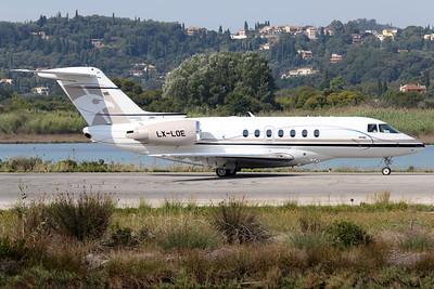 LX-LOE | Hawker Beechcraft Hawker 4000 | Flying Group Luxembourg