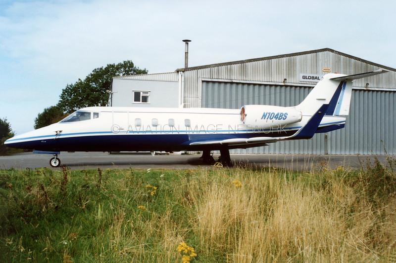 N104BS | Learjet 55