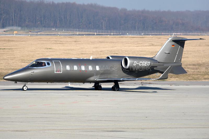 D-CGEO | Learjet 60 | Silver Bird