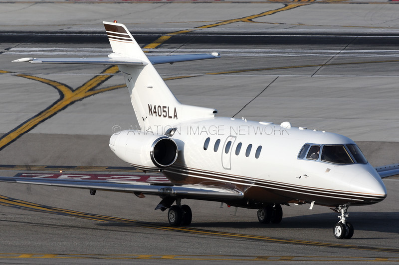 N405LA | Raytheon Hawker 800XP | Jet Aviation Flight Services Inc