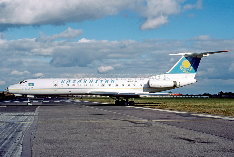 UN-65551 | Tupolev Tu-134A-3 | Kazakhstan Government