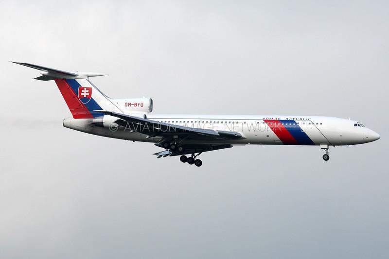 OM-BYO | Tupolev Tu-154M | Slovakia Government