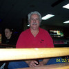 Gene Flathers supervises the bowling tryouts....?