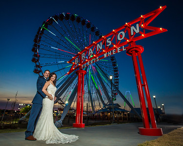 ferris wheel fake wedding