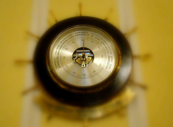 The Grand Linder hotel had a very nice barometer/weather device...just couldn't help myself.
