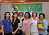 Cooking 4 Life Booth.  Linh, Sadie, Georgette, Claire, Beverly, and Karen.