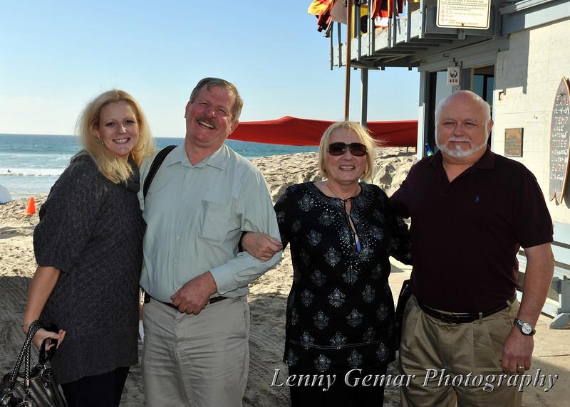Andy and friends...<br /> Christina Brightenburg, Andy Pawlowski, Caroline Brightenburg, and Len Pfau.
