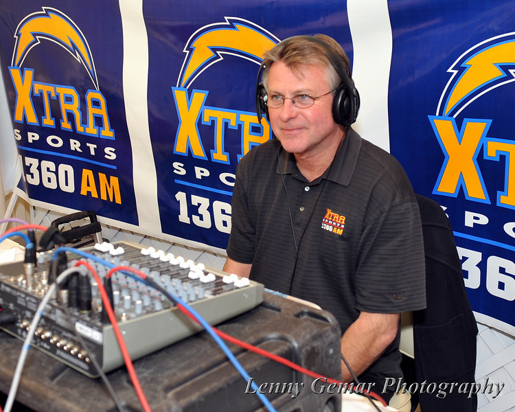 Kevin Boyle, Clear Channel radio engineer.  I've worked with him often over the years, for Sky Show and Chargers broadcasts.