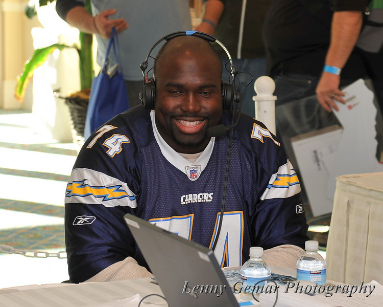 #74 Jacques Cesaire in an interview on XTRA Sports AM 1360.
