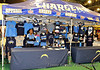 Chargers apparel booth