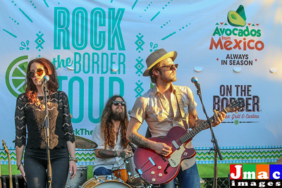 Rock the Border Concert Series at On the Border Grill and Cantina  Charley Crockett and Rise and Shine performed at Rock the Border concert series at On the Border Grill and Cantina Addison Texas on July 1, 2016 put on by Culture Collide sponsored by Avacodos from Mexico and Estrella Jalisco. Photo © 2016 Jerry McClure /Guidelive Dallas Morning News/Actionphotosdfw.com