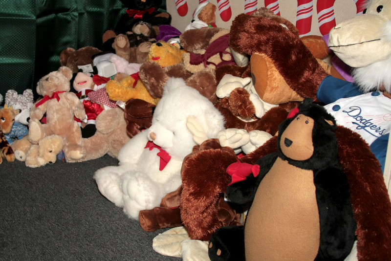 Stuffed animals fro all!!
