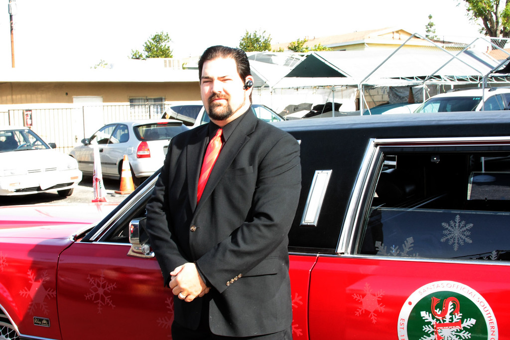 Santa's Limo driver and personal assistant
