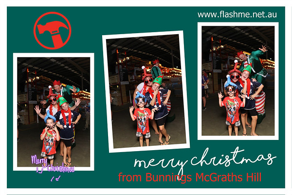 Bunnings McGraths Hills Christmas Family Night - 8 December 2016