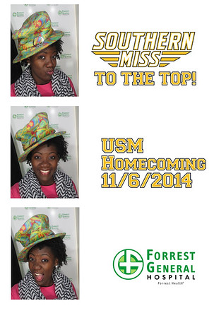 Forrest General Hosptial USM Homecoming Tailgate