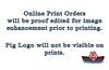Proof Editing Print Orders