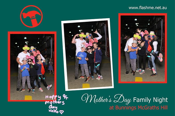 Mother's Day Family Night - Bunnings McGraths Hill - 11 May 2017