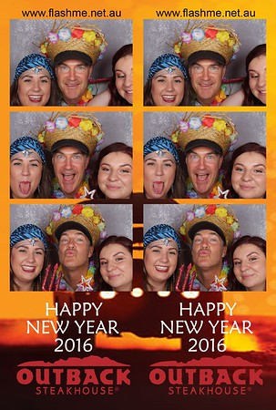 Outback Steakhouse New Year Party - 11 January 2016