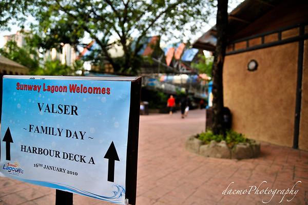 Valser Family Day 2010 Sunway Lagoon