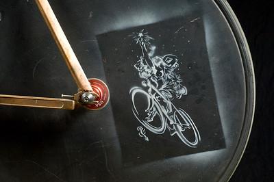 Ground Up Designs. North American Handmade Bicycle Show, Portland Oregon.  (Photo by Jessica Brandi Lifland)