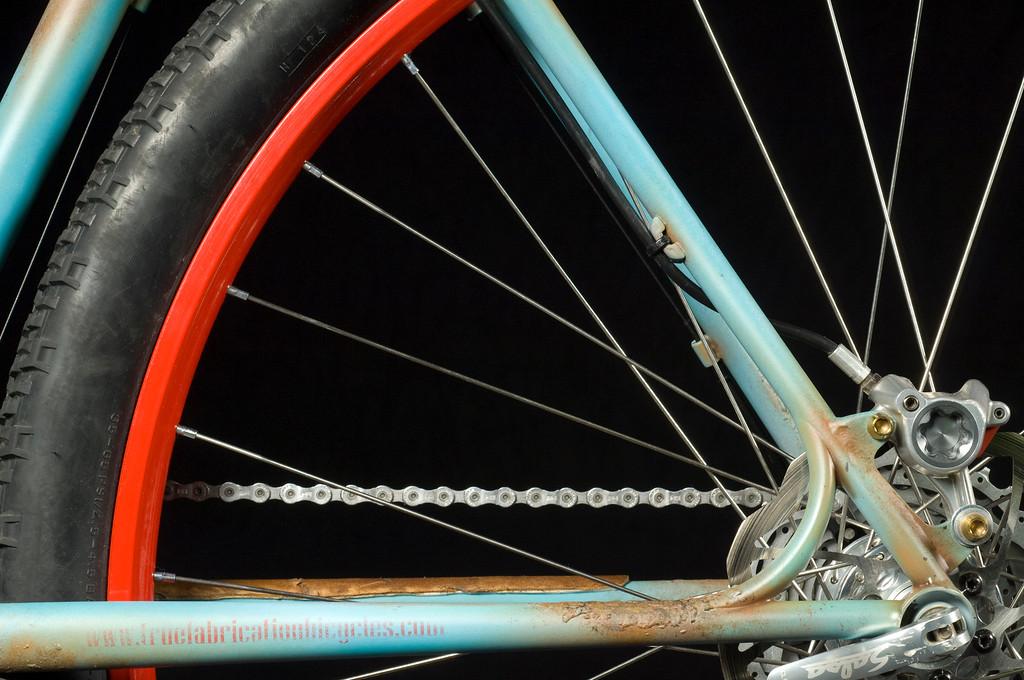 Truth Fabrication. North American Handmade Bicycle Show, Portland Oregon.  (Photo by Jessica Brandi Lifland)