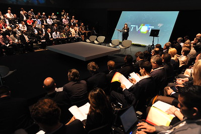 The 6th Annual San Francisco Television of Tomorrow TVOT conference by iTVT at the Yerba Buena Center, San Francisco, California. June 12, 2012.