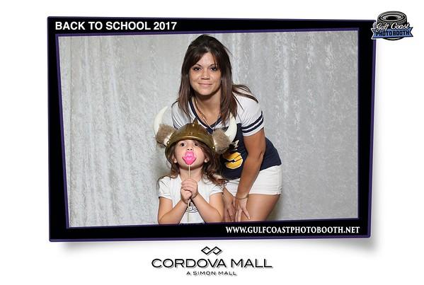 Cordova Mall Back to School 2017